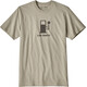 Patagonia Live Simply Power Responsibili-Tee Men Shale